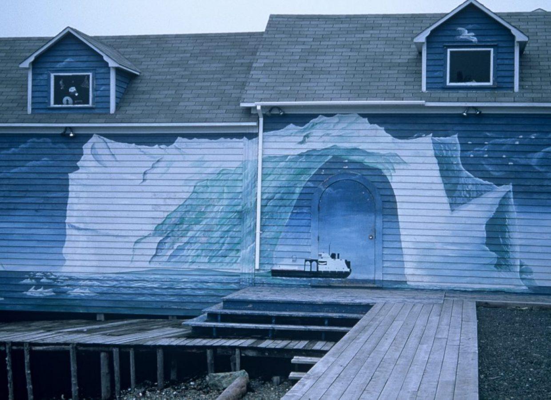 peinture iceberg canada