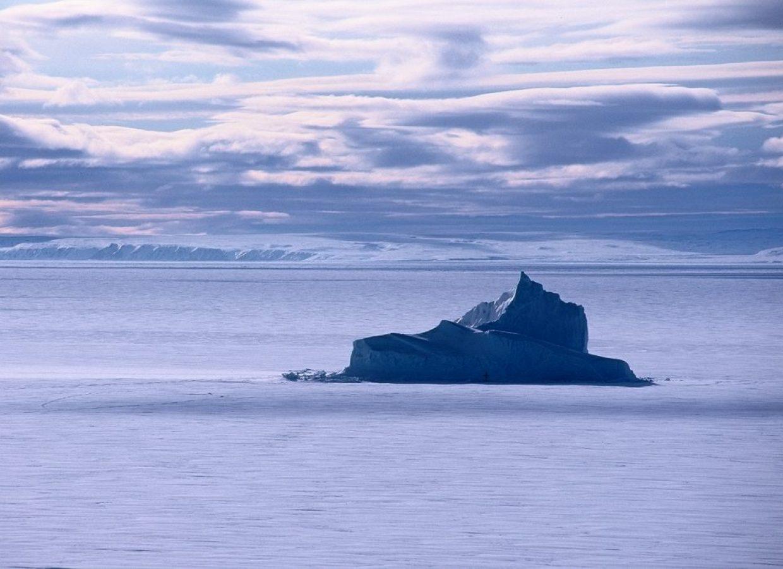 iceberg nunavut neige