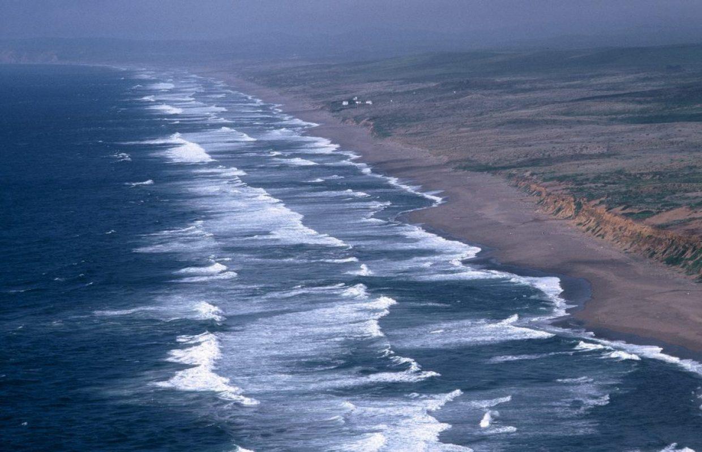 vagues californie