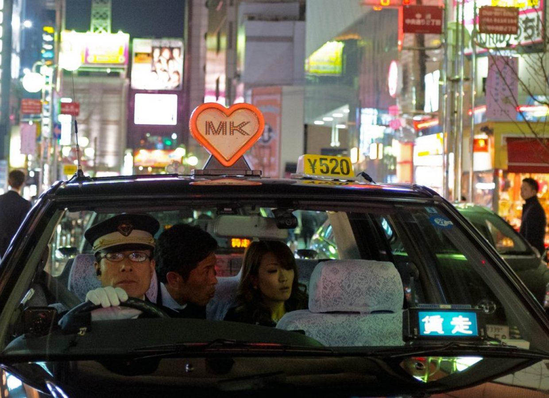 nuit taxi tokyo japon
