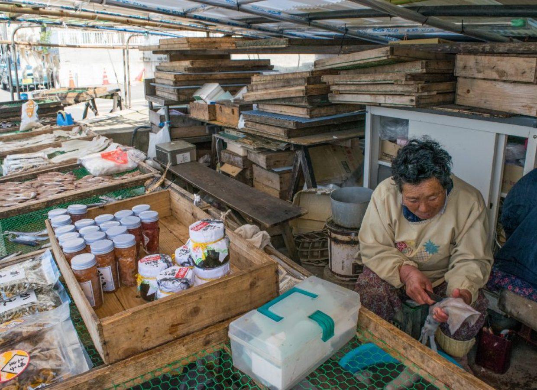 marché fruits de mer japon