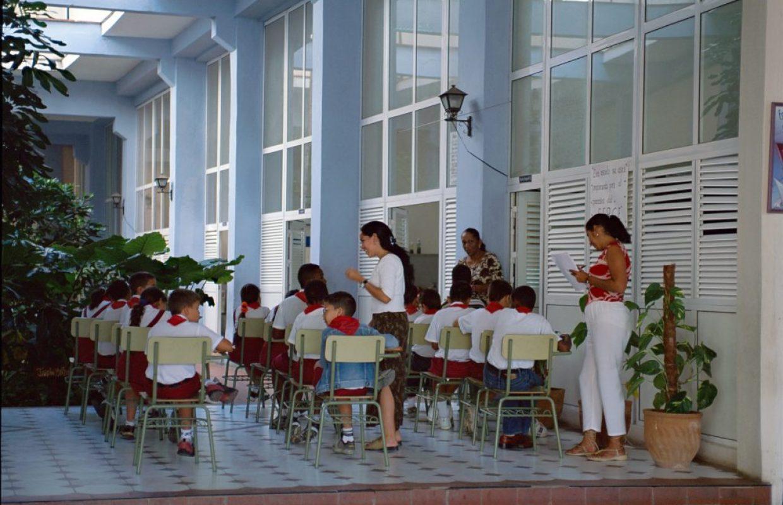 ecoliers cubains
