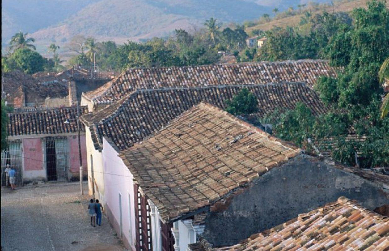 paysage maisons cuba