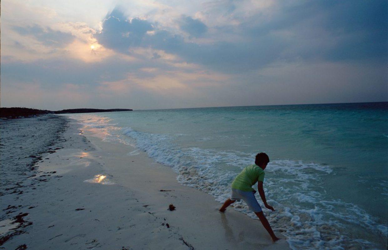 plage enfant cuba
